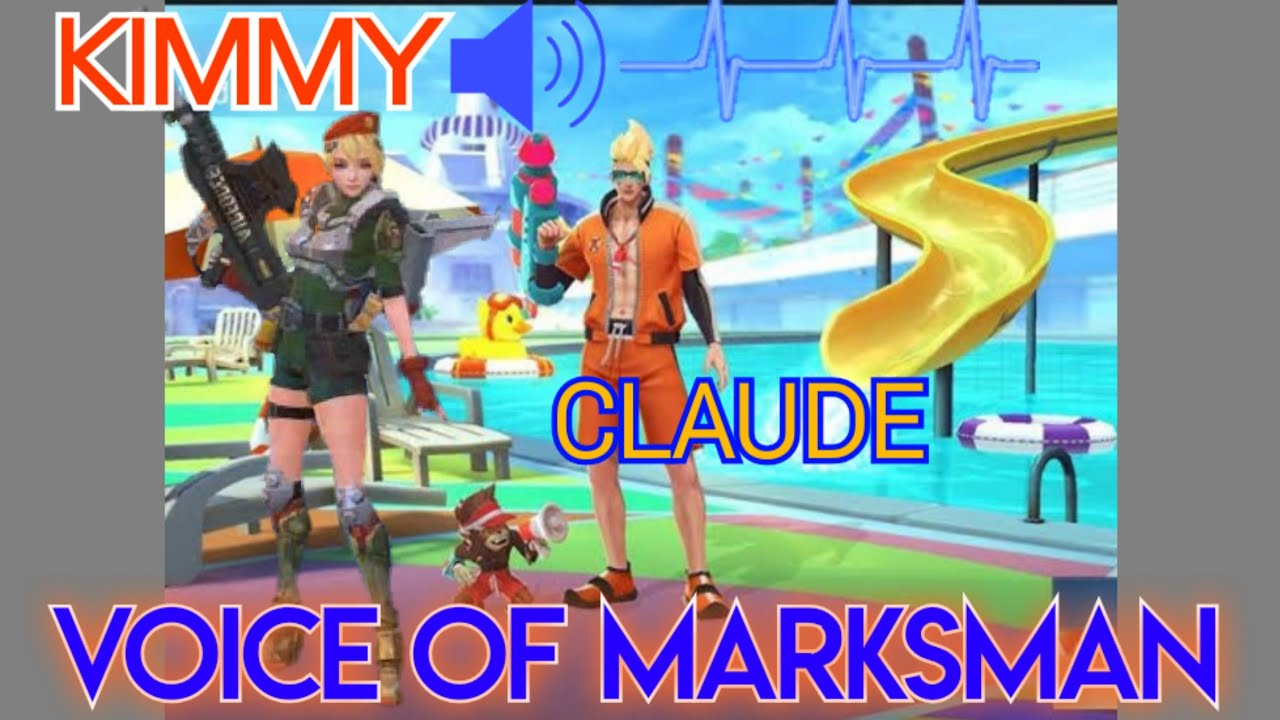 Kata Kata Marksman dan Arti Nya Kimmy & Claude Mobile Legend    YouTube