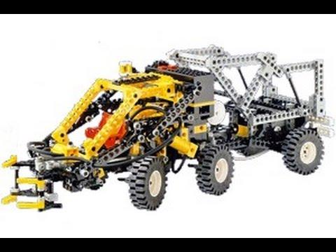 Lego Technic 8868 Air Tech Claw Rig B Model Instrutions - Year 1992