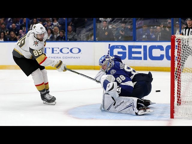 Golden Knights, Lightning take it to a shootout
