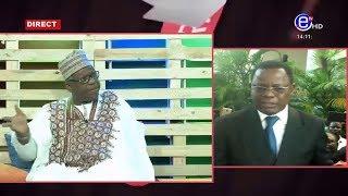 DIMANCHE AVEC VOUS (Invité SAM MBAKA /Vice Président UDC) -EQUINOXE TV