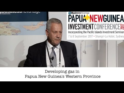 Developing gas in Papua New Guinea's Western Province
