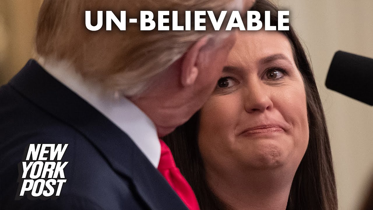 Why Did Trump Tell Sarah Sanders To Take One For The Team ...