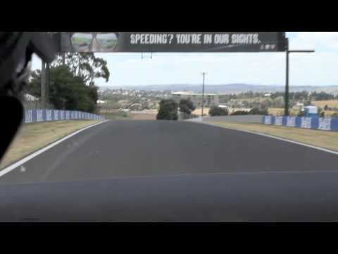 Warren Luff Bathurst lap