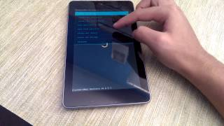 Installing paranoid android on nexus 7