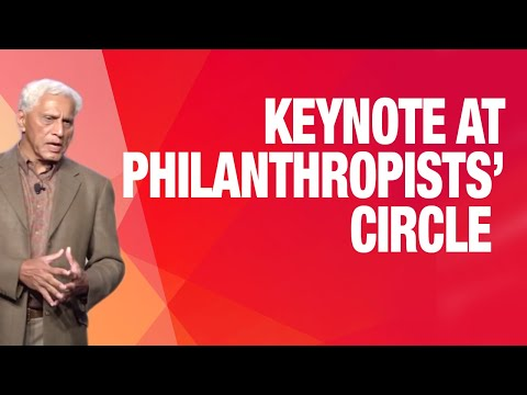 Dr. Romesh Wadhwani's plenary keynote at Philanthropists' Ci