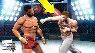 видео: БОЙ ФРАНКЛИНА и КОНОРА МАКГРЕГОРА в UFC! КТО ПОБЕДИТ? - GTA 5 РЕАЛЬНАЯ ЖИЗНЬ ГАНГСТЕРА (МОДЫ ГТА 5)
