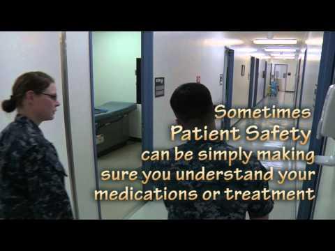 Patient Safety Spot for Yokosuka Naval Hospital