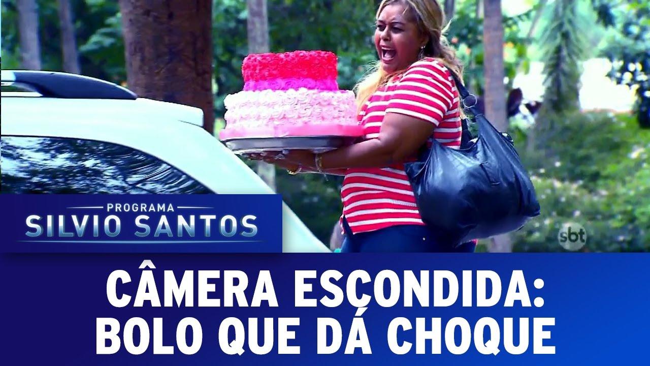 Bolo Que Dá Choque | Câmera Escondida (26/03/17)