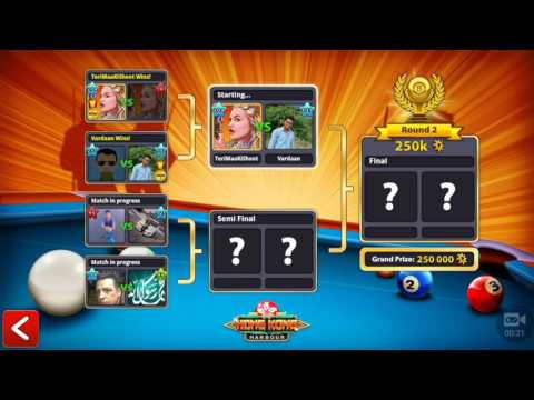 8 Ball Pool || HONG KONG HARBOUR 2017 CRAZY WIN + NEW GAME MODE + NEW CUE