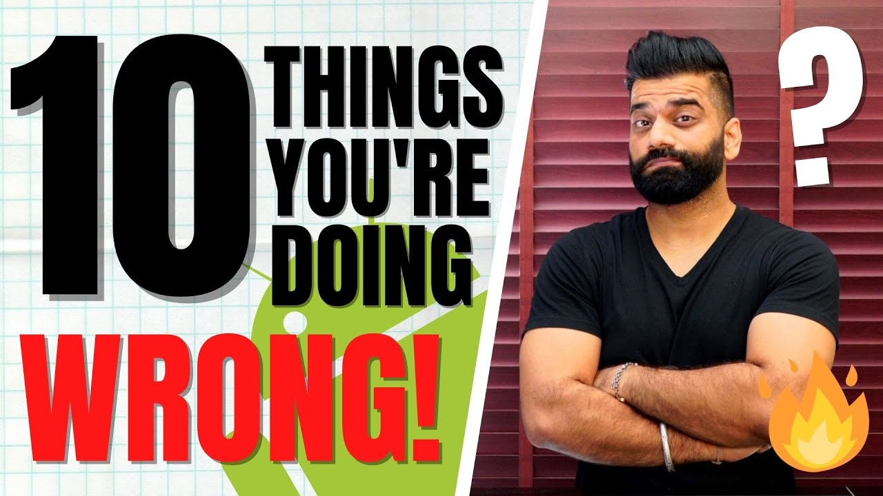 10 Things You Should Never Do With Your Smartphone🔥🔥🔥
