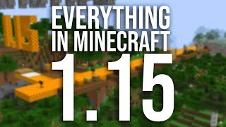 Every New Feature in Minecraft 1.15!