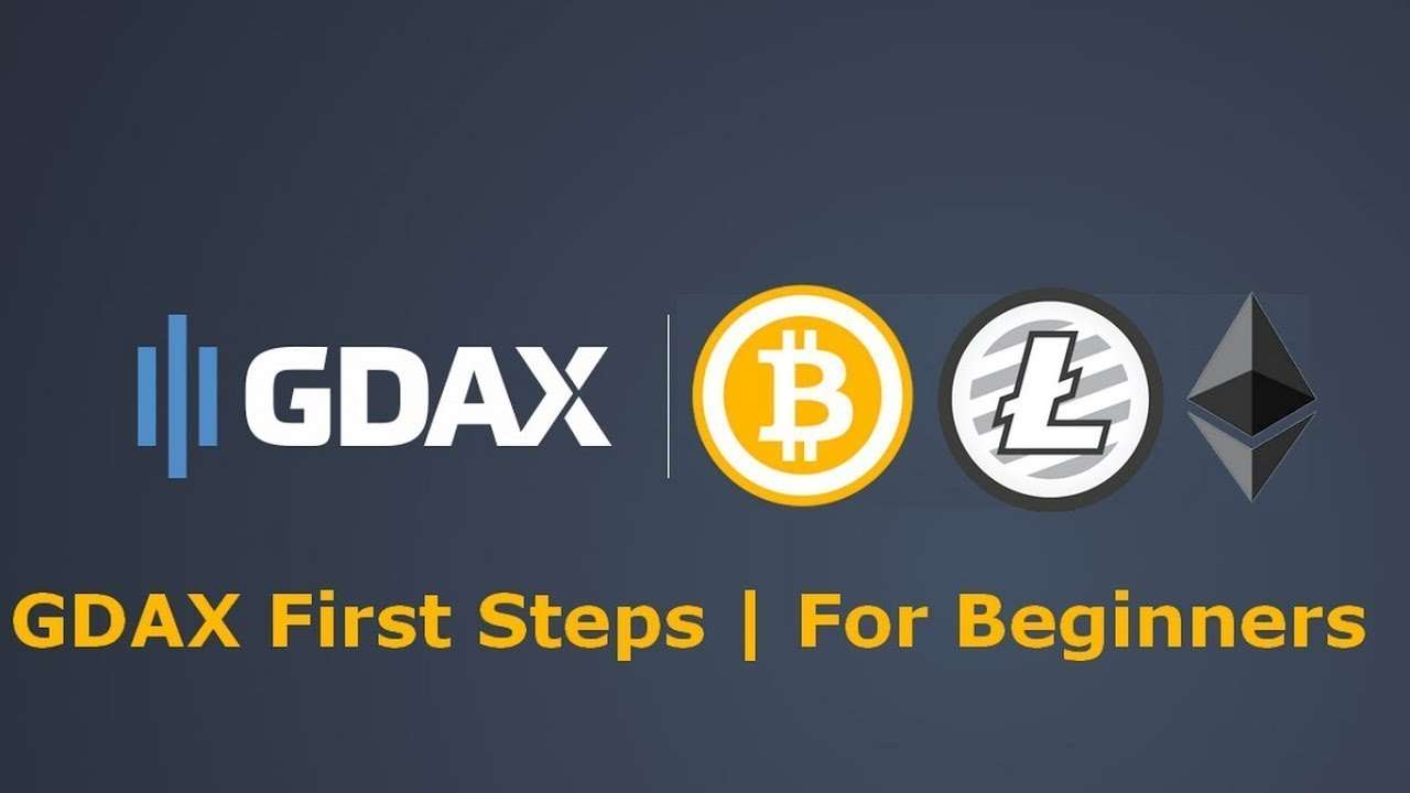 How To Use GDAX Bitcoin Litecoin Ethereum Exchange