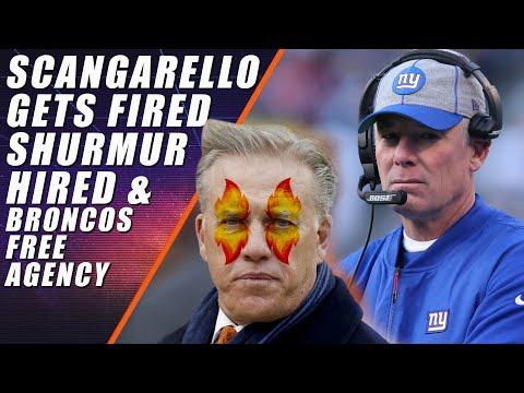 Broncos Hire Shurmur & Fire Scangarello: Plus Free Agency