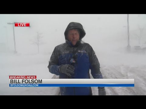 Blizzard Conditions Across Colorado