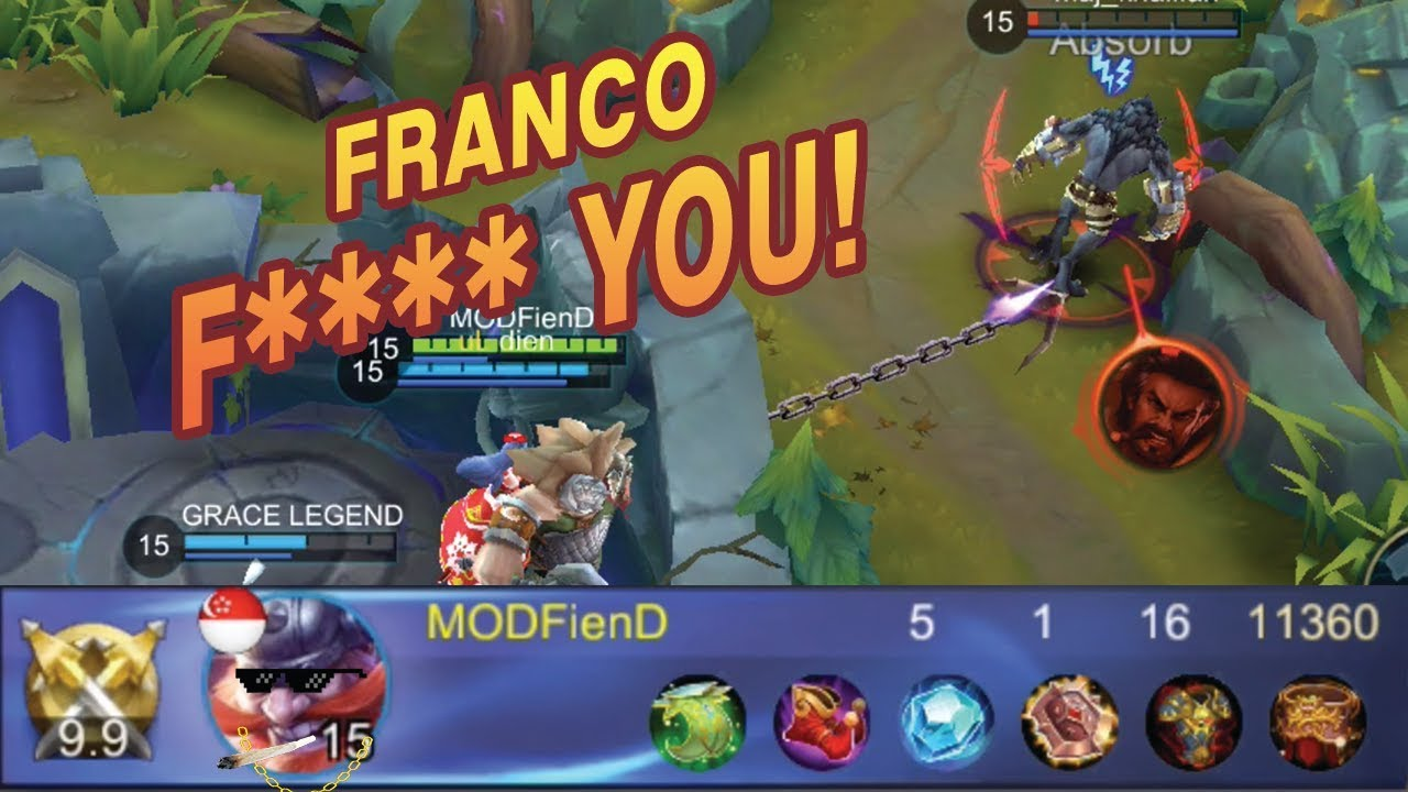 Image Result For Mobile Legends Franco