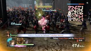 Samurai Warriors 4 - Legend of the Sanada Ep 1 - Battle of Mount Tenmoku