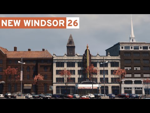 Old Downtown - Cities Skylines: New Windsor - Part 26 -