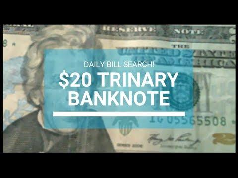 20 DOLLAR TRINARY BANKNOTE - Bill Searching For Rare Bills Worth Money