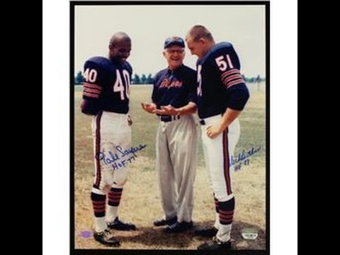 GALE SAYERS AND DICK BUTKUS  STORY