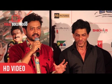 Question Answer Session With Shahrukh Khan, Irfan Khan & Anupam Kher