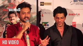 Question Answer Session With Shahrukh Khan, Irf...
