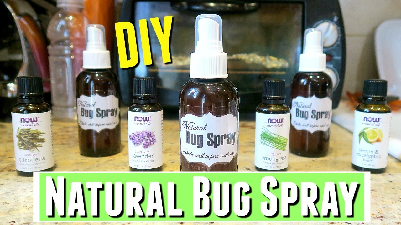 Insect Repellent with Essential Oils