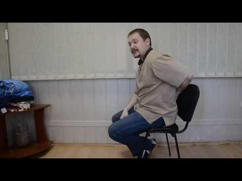 Лекция о том как правильно сидеть на стуле (за столом).