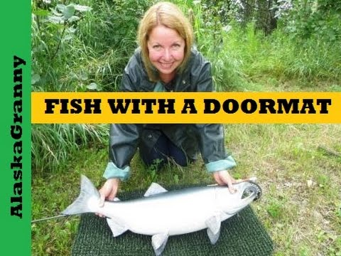 Fishing Hack With A Doormat – Clean Machine Astroturf Scraper Mat