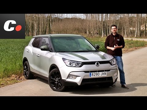 SsangYong Tivoli SUV | Prueba / Análisis / Test / Review en español | coches.net