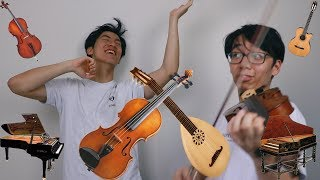 Musical Instruments on the Violin thumbnail