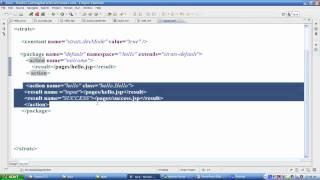 Struts 2 MVC Framework Session 2 | Struts 2 Simple Example and Configuration