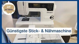 Bernette Chicago 7 Stickmaschine & Nähmaschine mit Zierstichen | Anfänger Stickmaschine