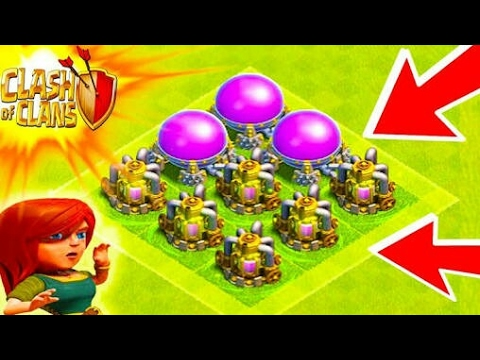 HOW TO FARM WHEN YOU HAVE ENGINEER BASE : CLASH OF CLANS