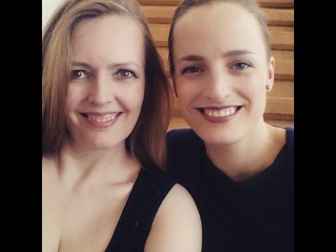 Paganini Caprice 24 , Duo Luminoso ( Laura Zarina, Heike Matthiesen)