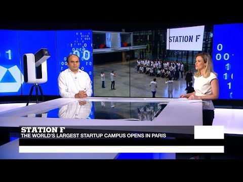 Station F: World's largest startup incubator opens in Paris
