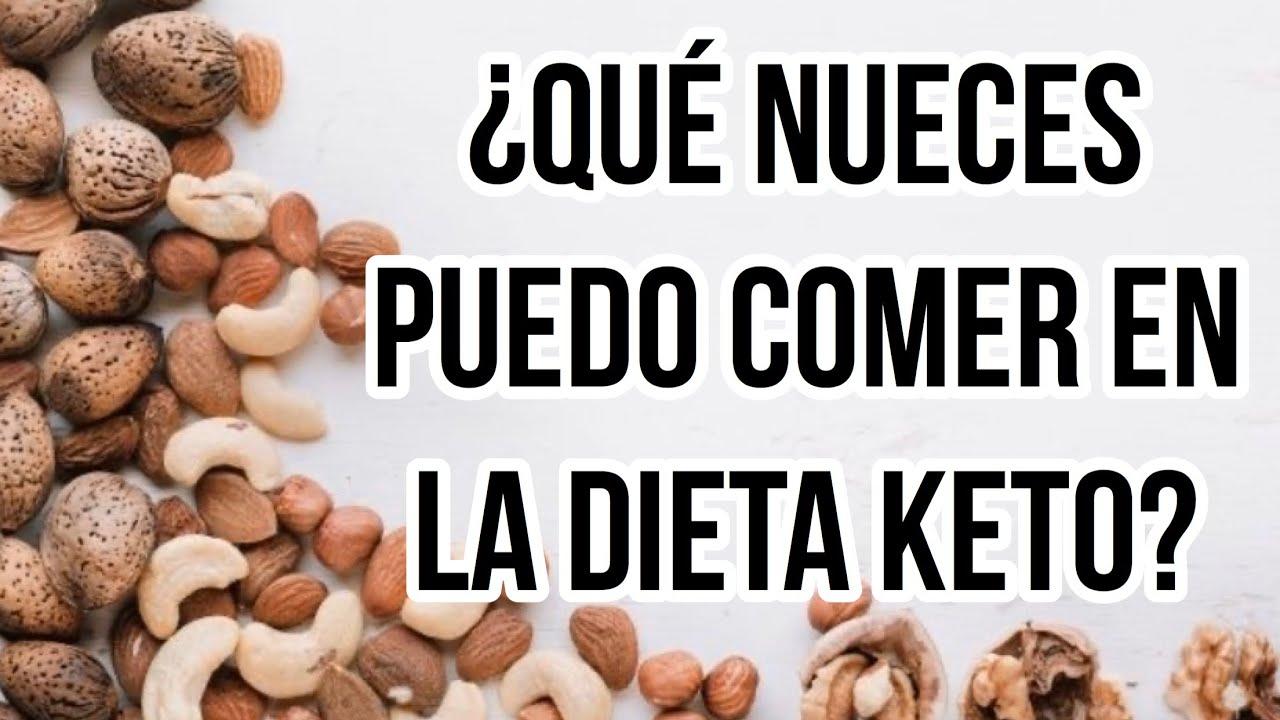 ¿puedes comer nueces en una dieta cetosis?