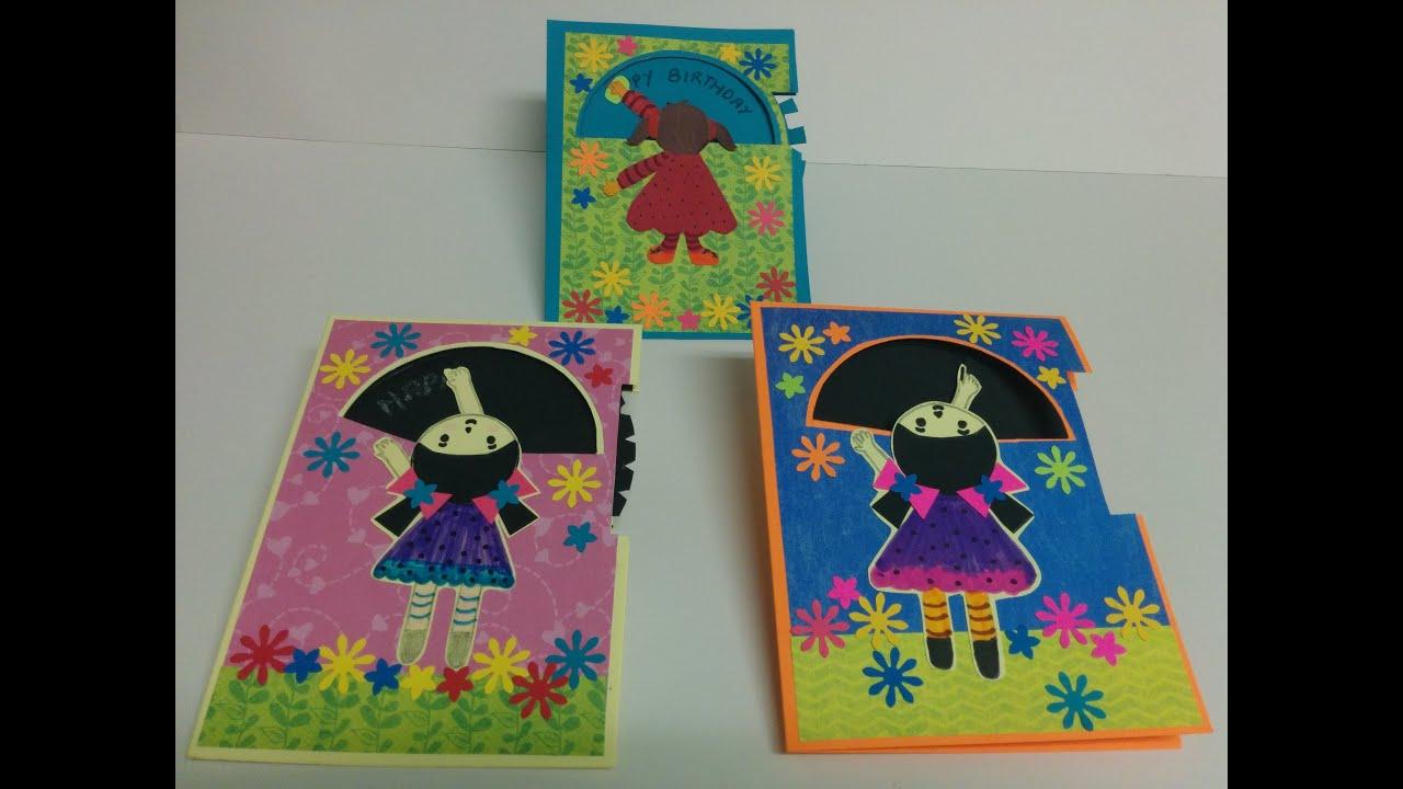 Art And Craft: How To Make Rotating Wheel Card / Magic