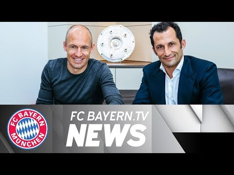 Robben signs new contract – Jupp's farewell from Säbener Straße