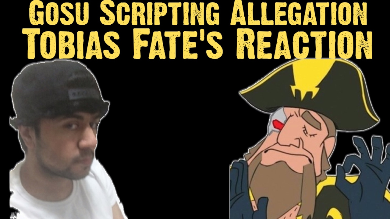 Tobias Fate's Reactions to `Gosu Caught Scripting` Allegation | (Tweets)  Stream Highlights #38