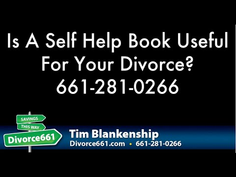 Is A Self Help Book Useful For Your San Fernando Divorce?