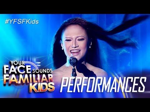 Your Face Sounds Familiar Kids: AC Bonifacio as Celine Dion - My Heart Will Go On