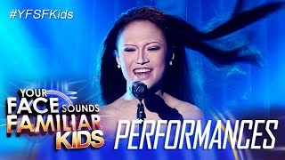 Your Face Sounds Familiar Kids: AC Bonifacio as Celine Dion - My Heart Will Go On