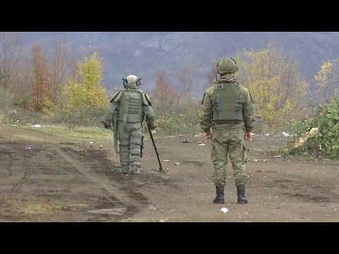В Нагорном Карабахе погиб российский военнослужащий.