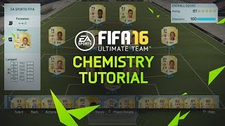 FIFA 16 Ultimate Team Tutorial - Chemistry