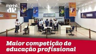 Brasileiros partem para Rússia para maior competição de educação profissional