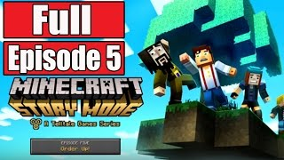 Minecraft Story Mode Episode 5 Gameplay Walkthrough Part 1 FULL EPISODE w/Ending 5 - No Commentary