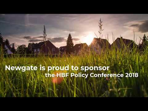 Newgate is proud to sponsor the HBF Policy Conference 2018