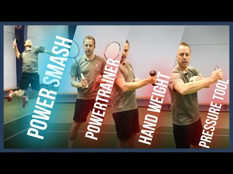 SMASH harder in Badminton Tips & Exercises to increase your muscle power