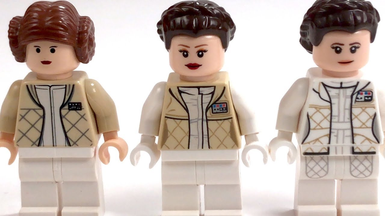 Hoth Leia LEGO Minifigure Comparison | Star Wars: The ...