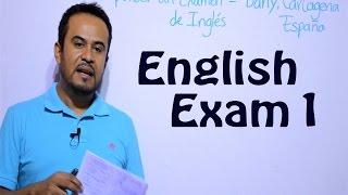 COMO RESPONDER UN EXAMEN DE INGLES (Video 1)